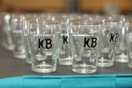 Official KombuchaKon 2016 Tasting Glasses