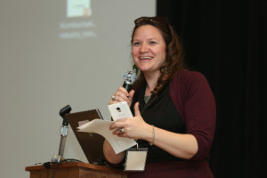 Hannah Crum speaking at KombuchaKon 2016